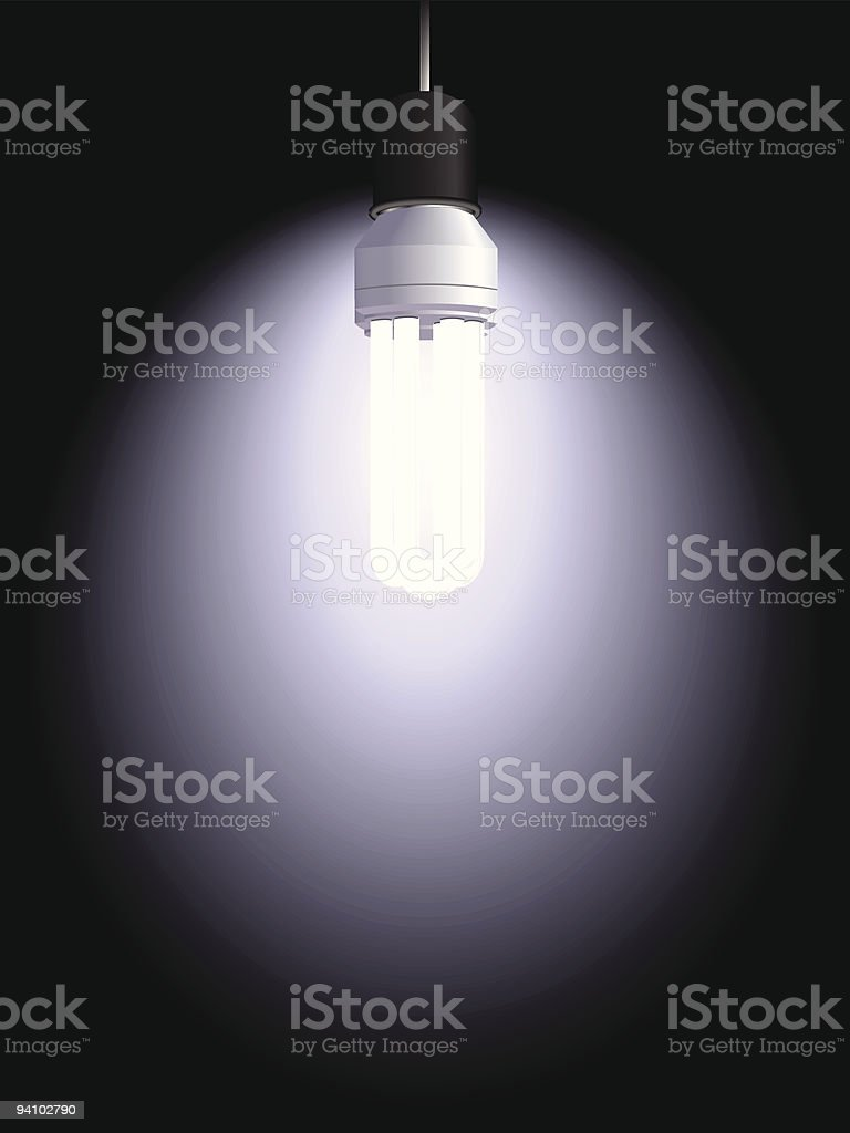 electric bulb royalty-free stock vector art