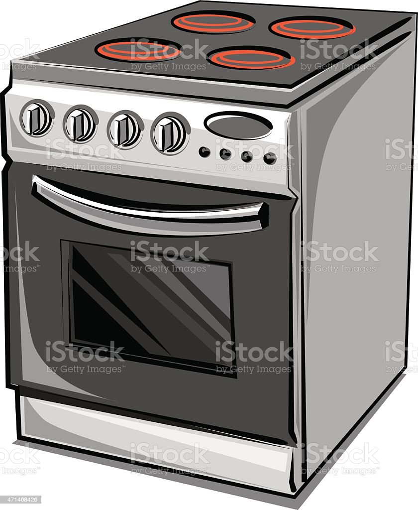Stove Clip Art Vector Images Amp Illustrations Istock