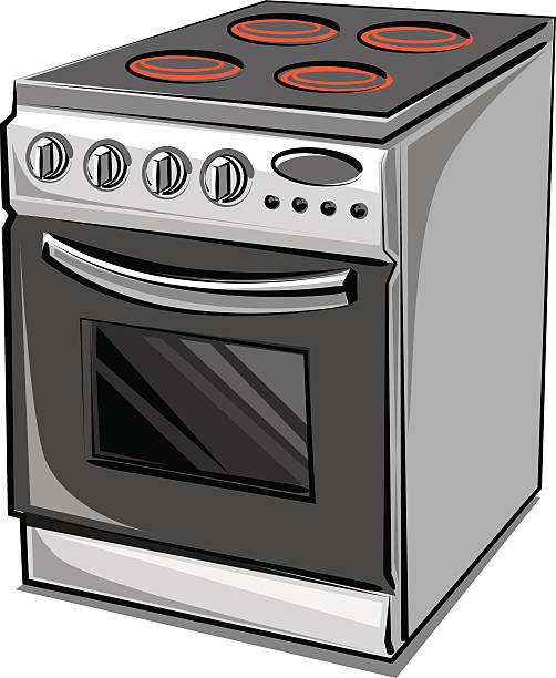 Cooker Clip Art ~ Stove clip art vector images illustrations istock