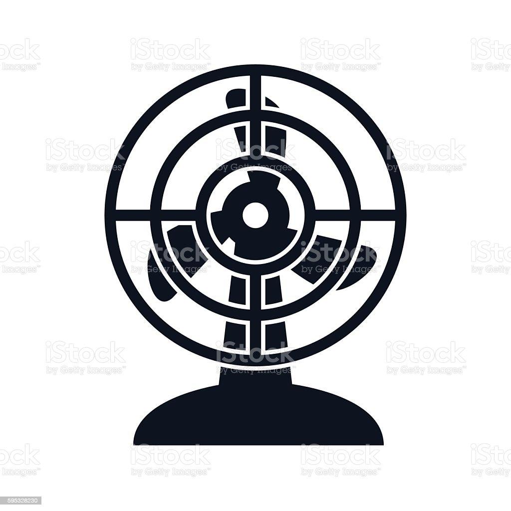 Electric Fan Illustration - VECTOR vector art illustration