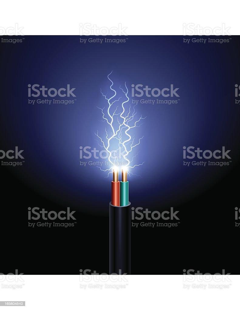 Electric Power vector art illustration