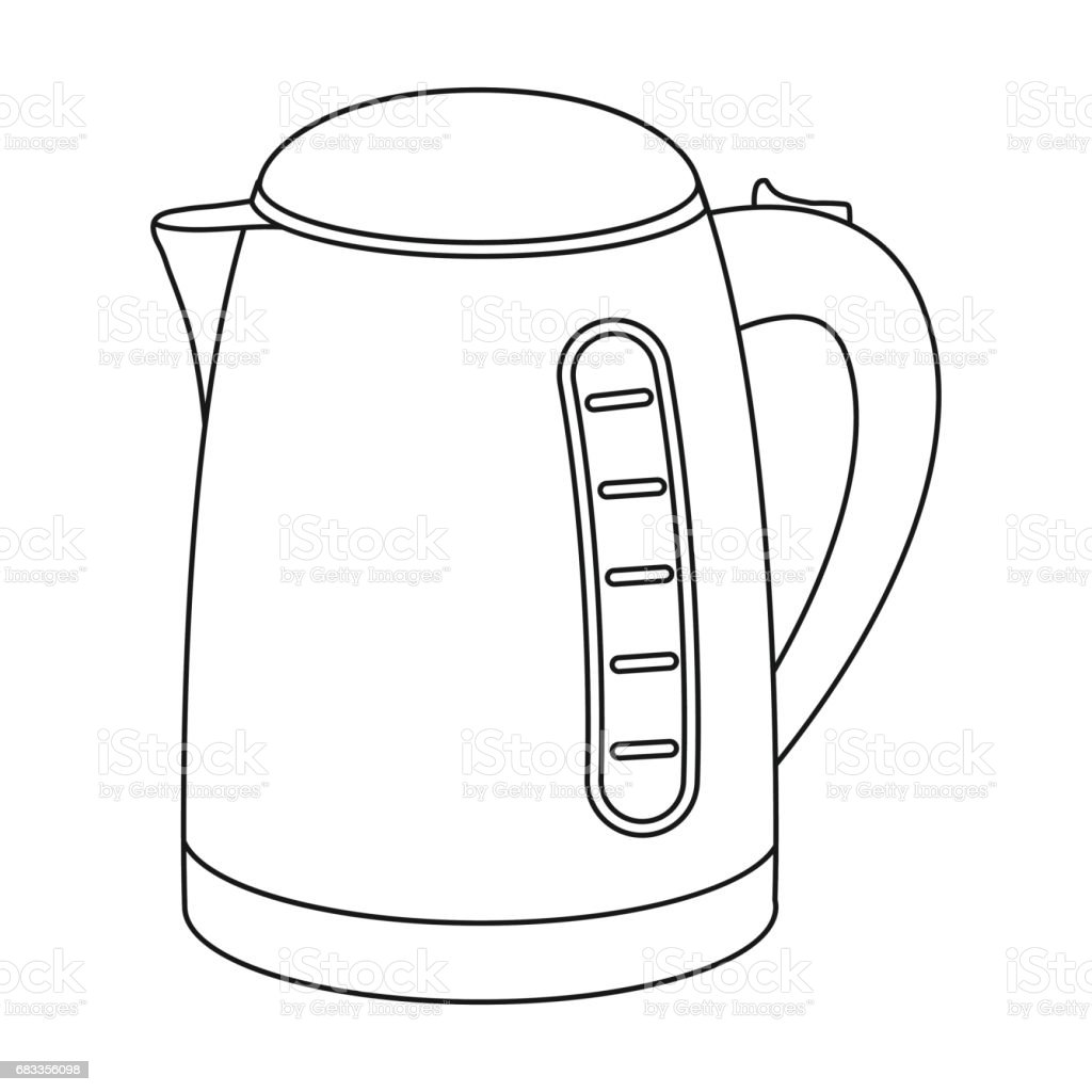 steel kettle clip art  vector images  u0026 illustrations