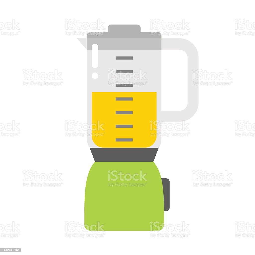 Electrical mixer isolated vector illustration. vector art illustration