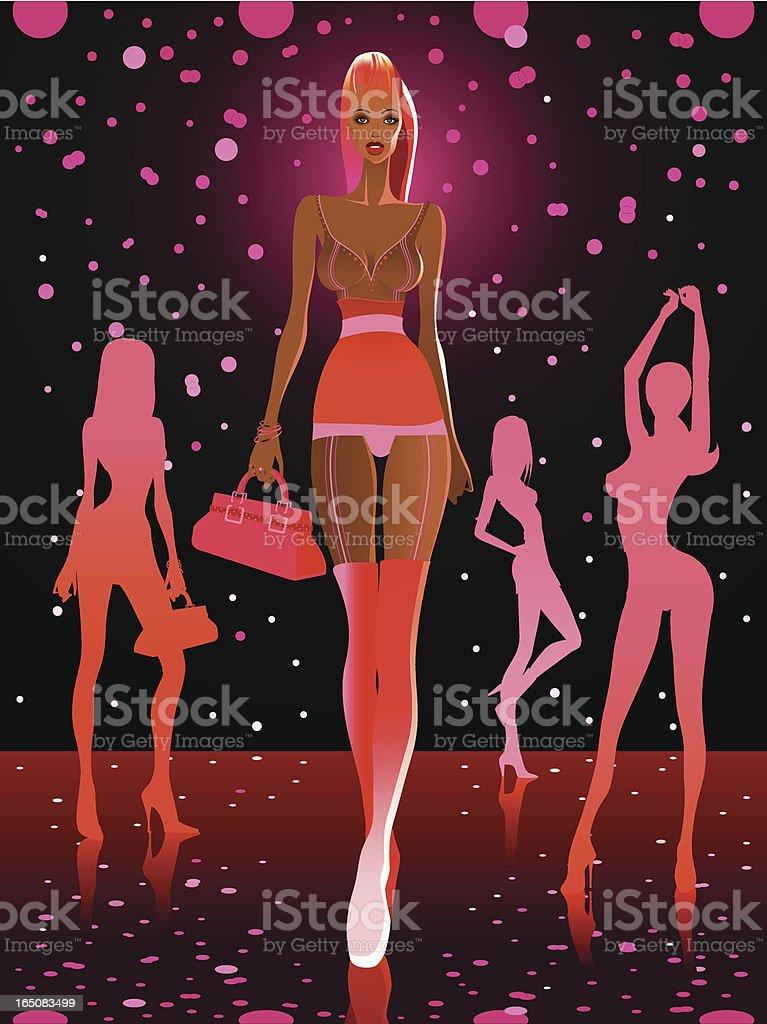 Electrik fashion royalty-free stock vector art