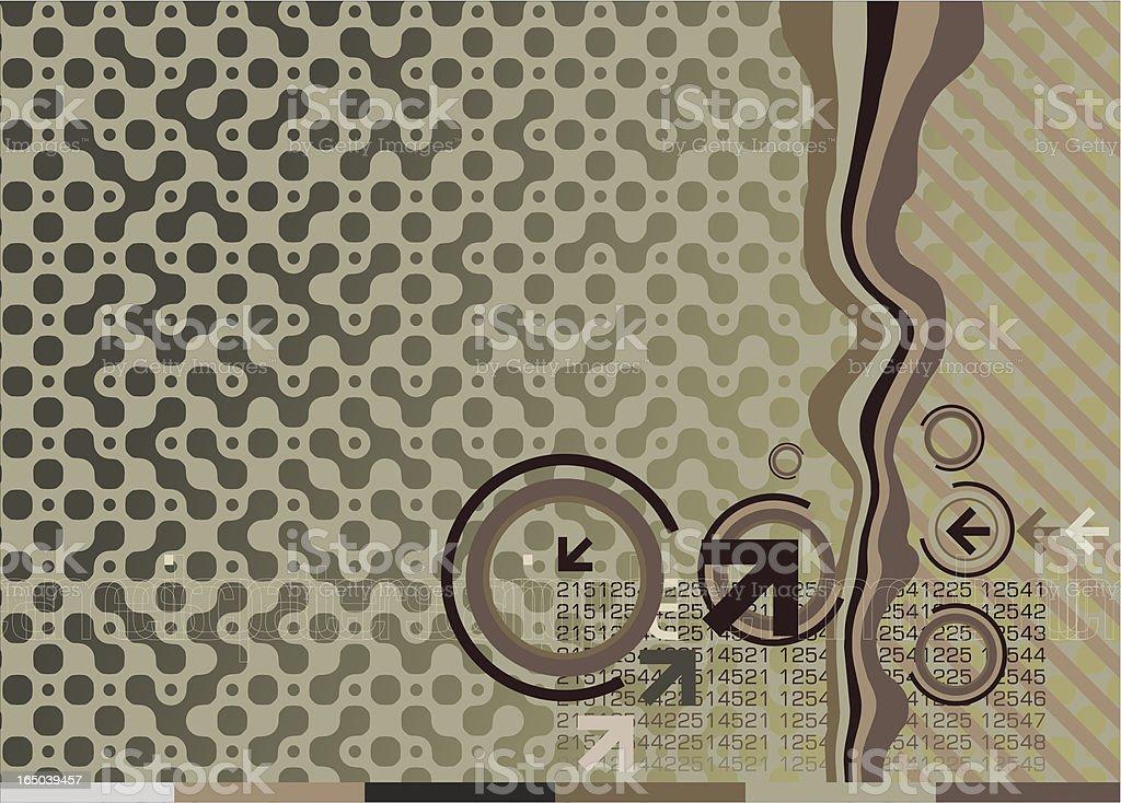 Electro camo background royalty-free stock vector art