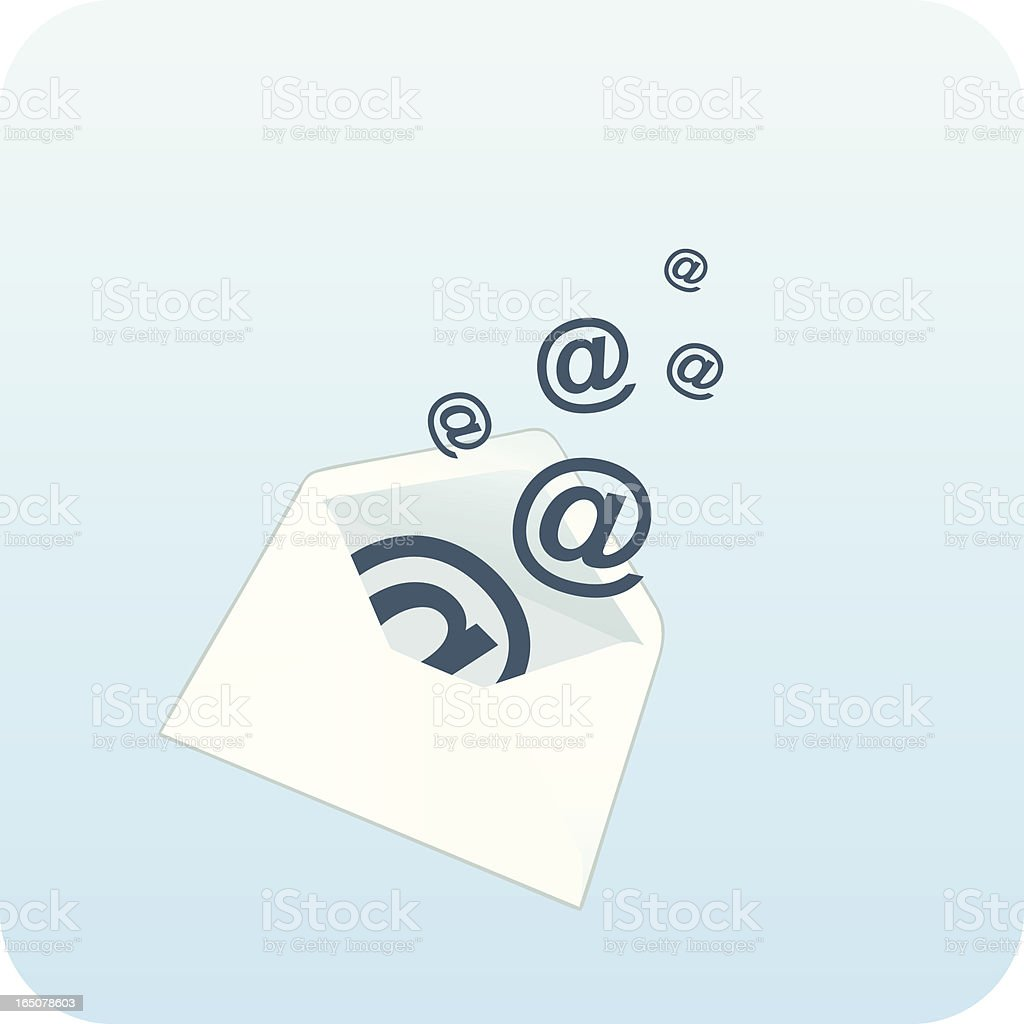 Electronic Mail royalty-free stock vector art