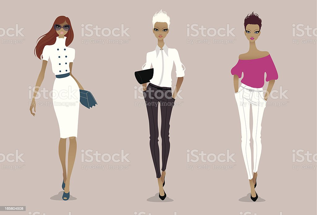 Elegance vector art illustration