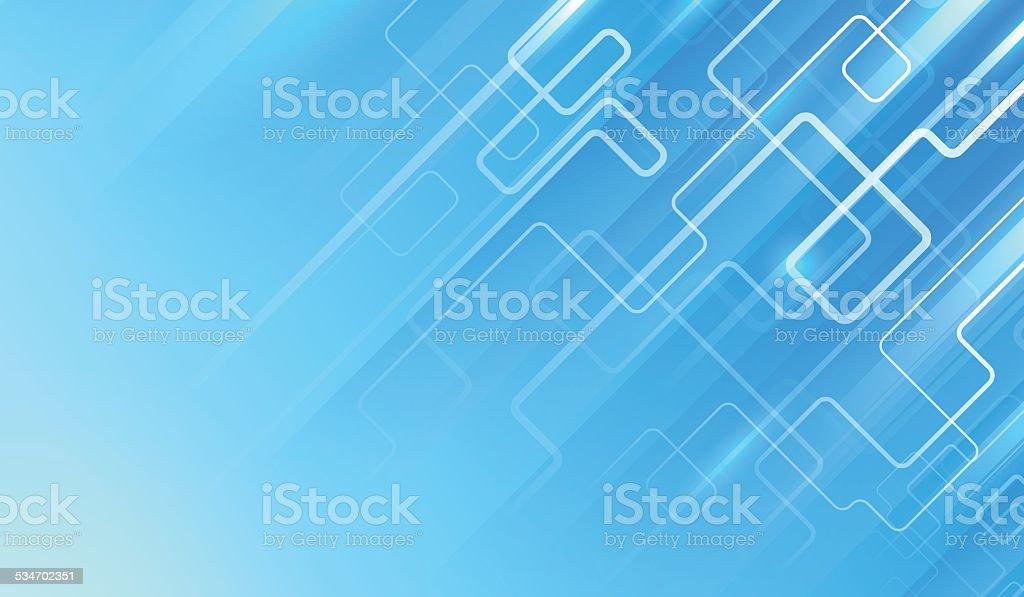 Elegant blue background. vector art illustration