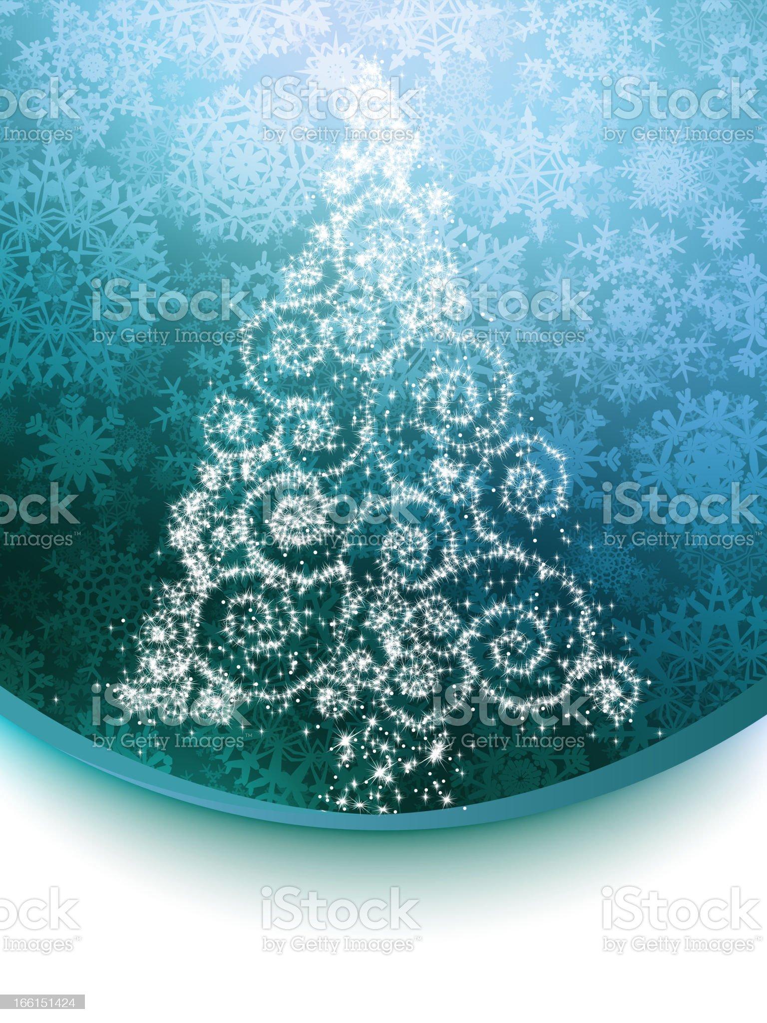 Elegant christmas background. EPS 8 royalty-free stock vector art