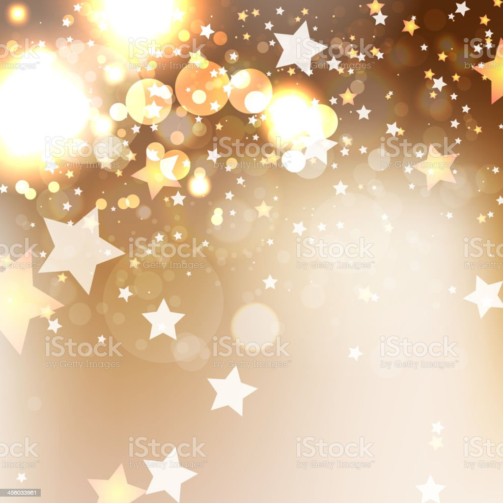 Elegant Christmas background with snowflakes vector art illustration