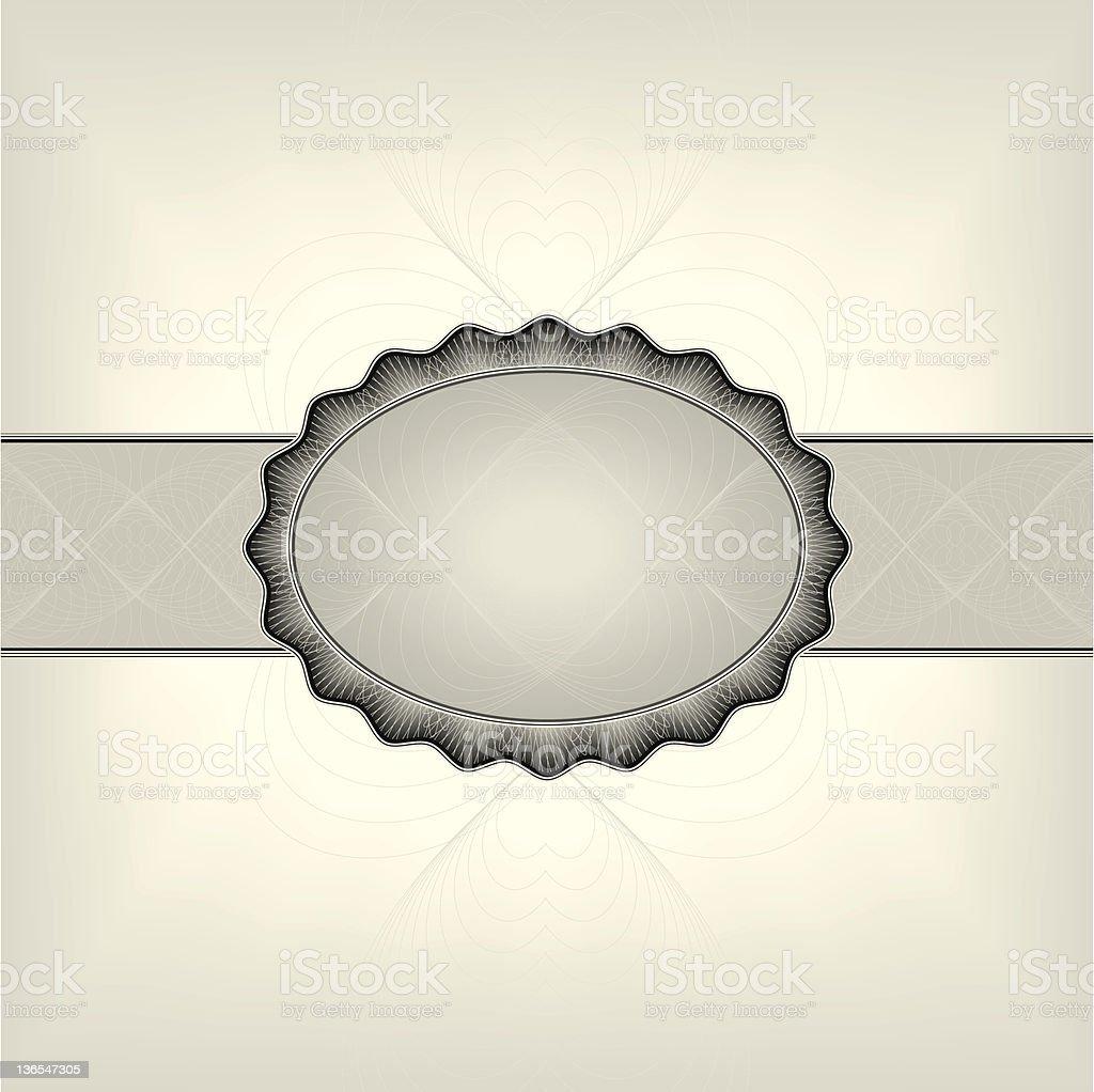 elegant frame royalty-free stock vector art