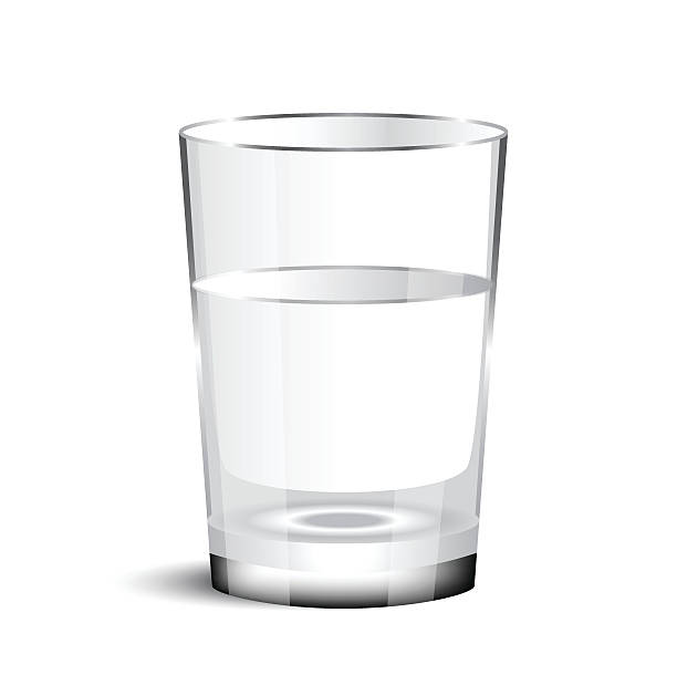 Water glass clip art vector images illustrations istock for Water glass images