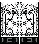 Elegant Iron Gate