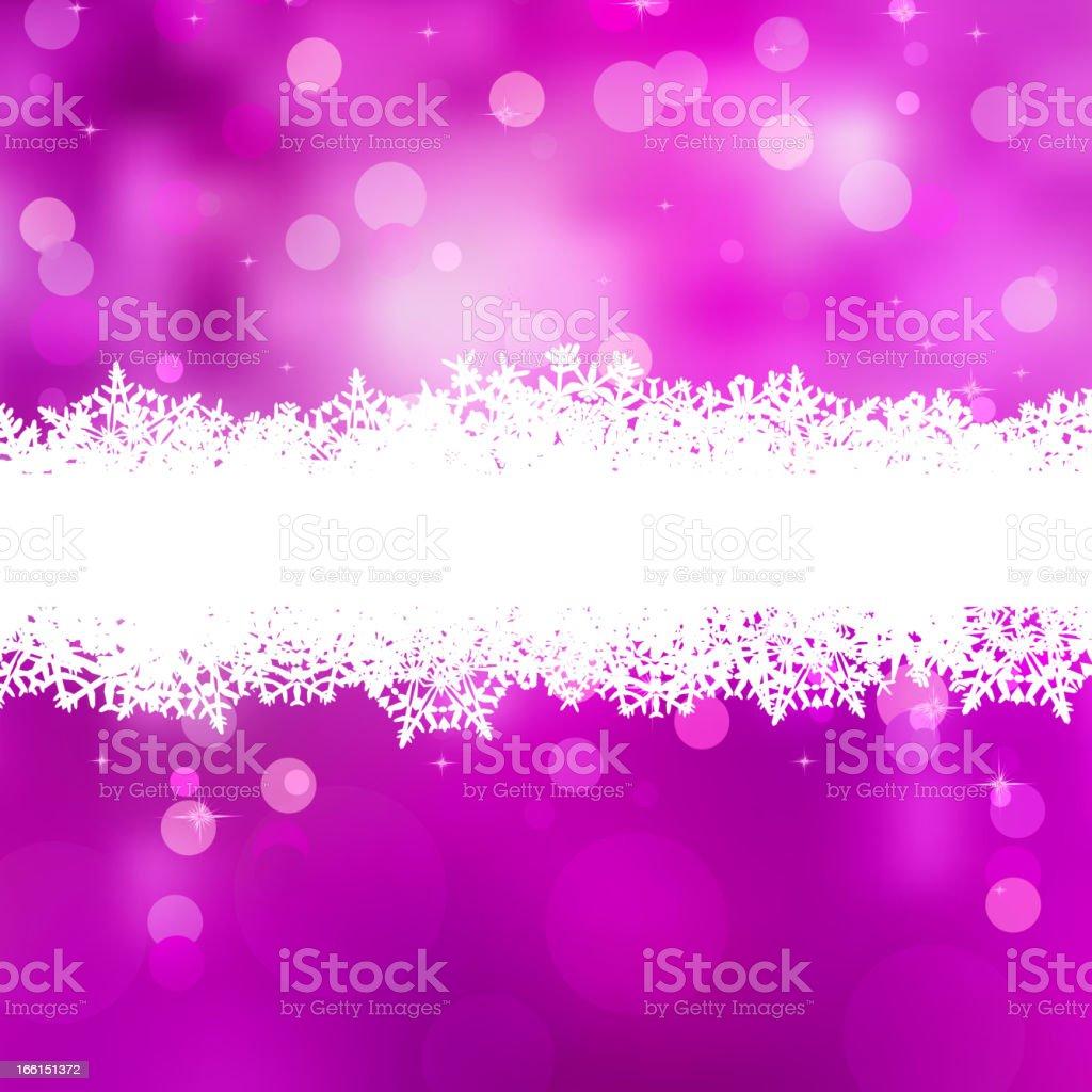 Elegant pink Christmas light bokeh. EPS 8 royalty-free stock vector art