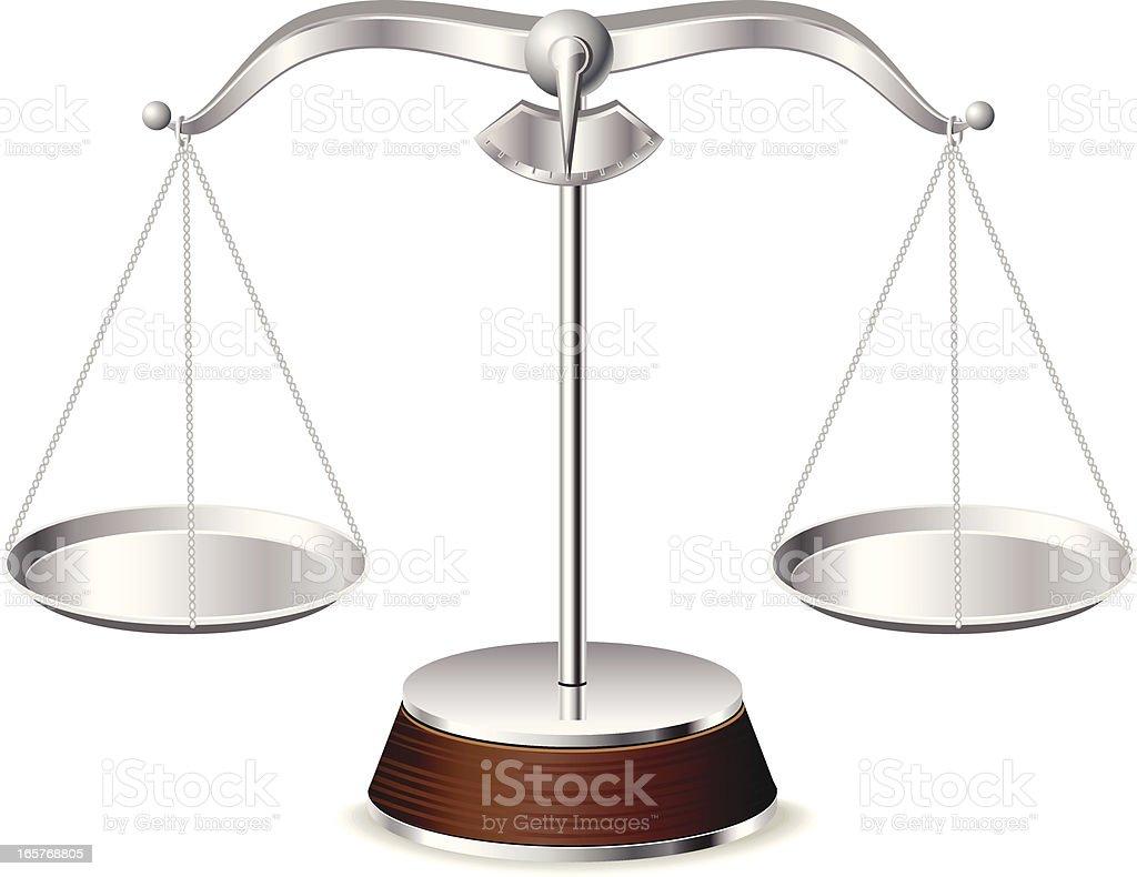 Elegant Scale royalty-free stock vector art