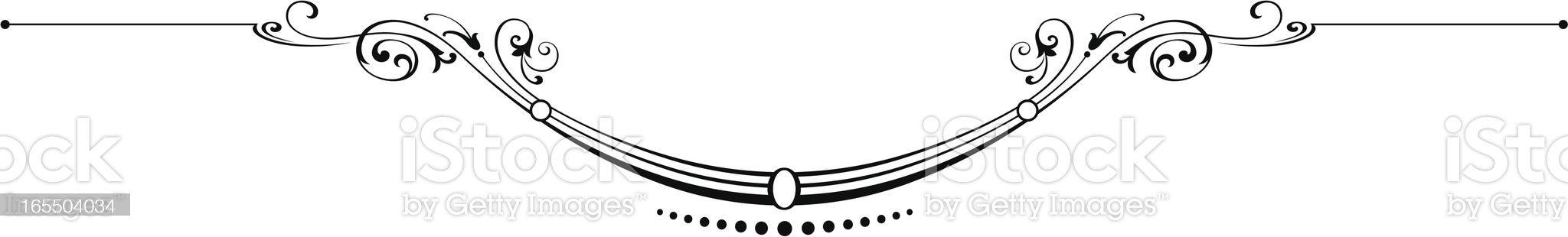 Elegante Ruleline royalty-free stock vector art