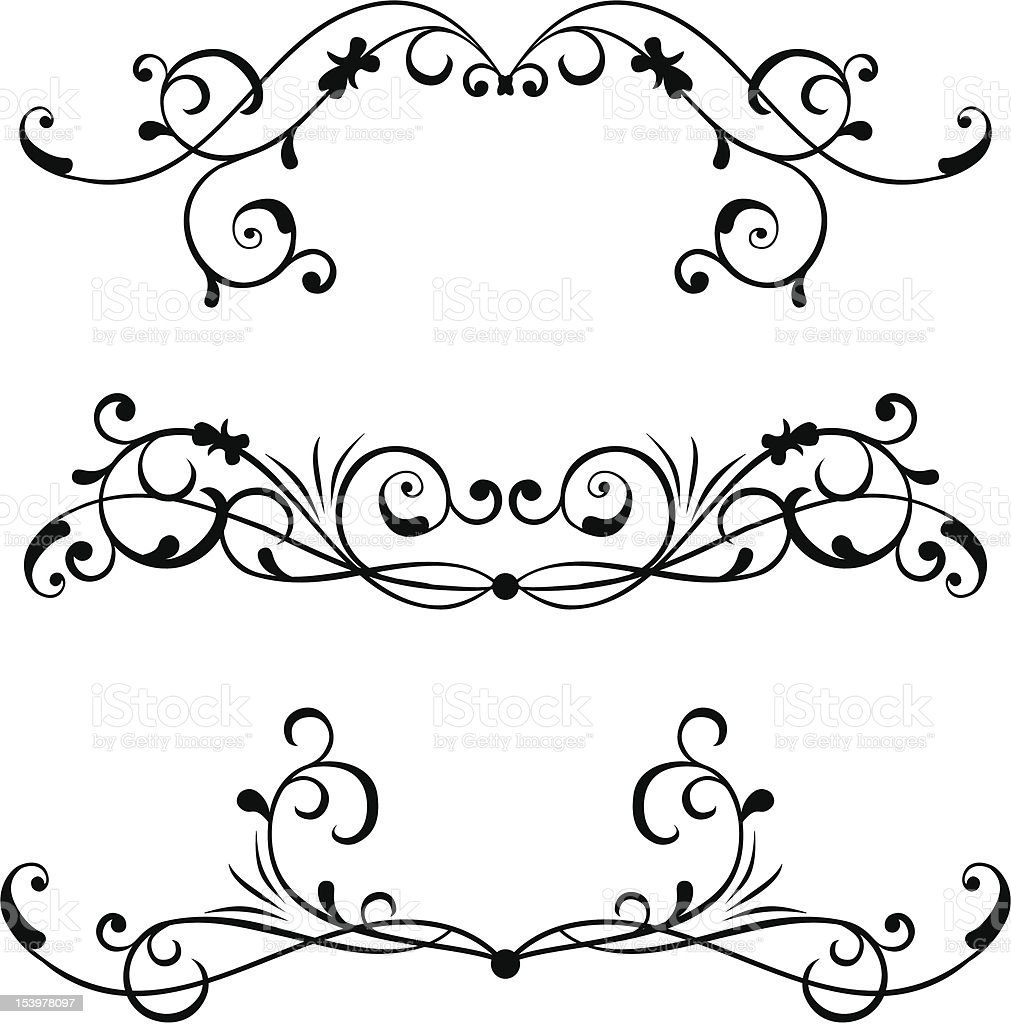 Element for design, vector royalty-free stock vector art