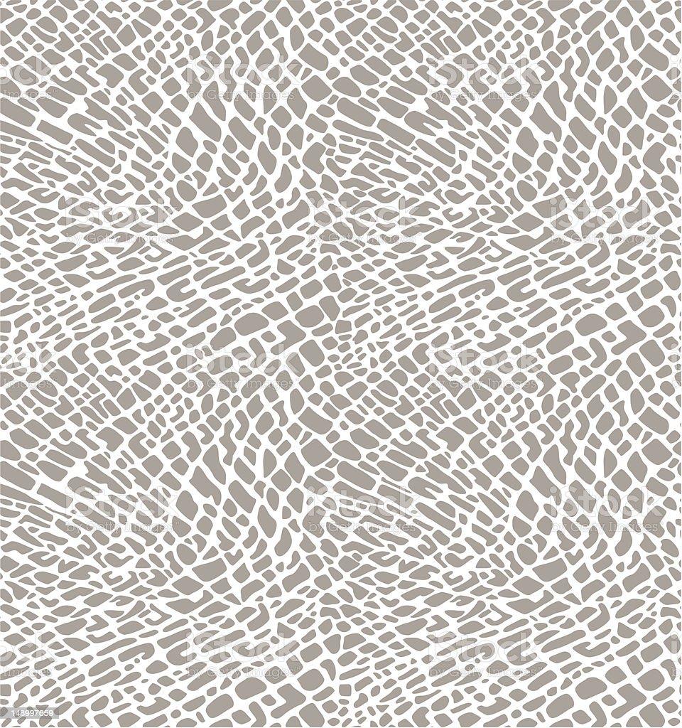 Elephant skin vector art illustration