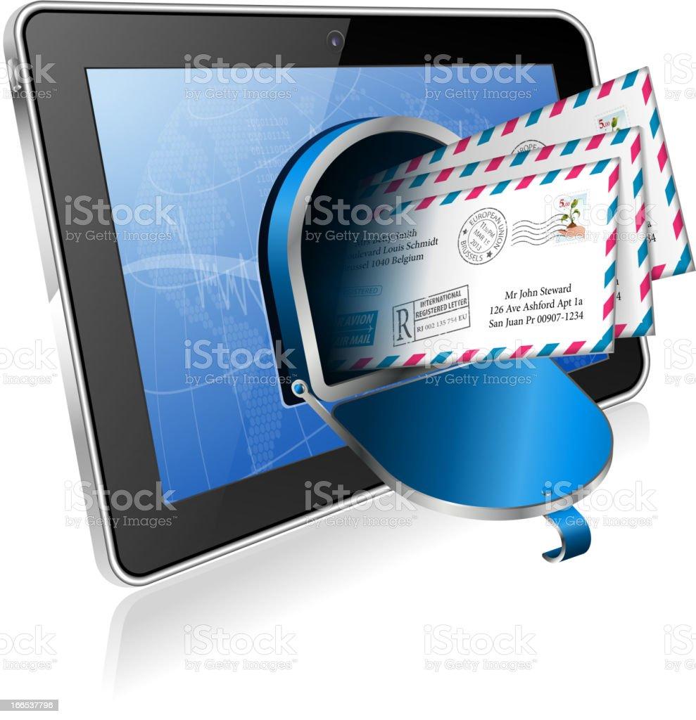 E-Mail Concept royalty-free stock vector art