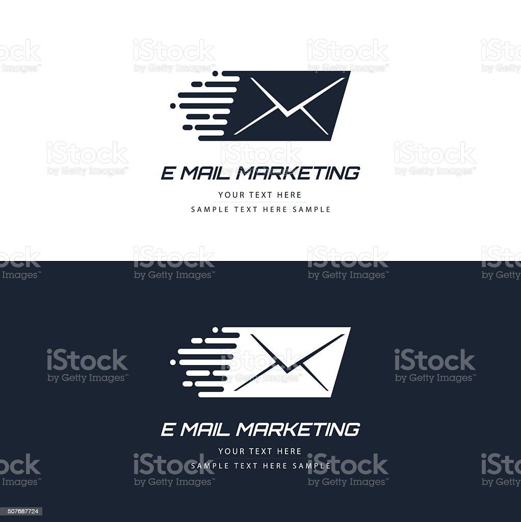 E-mail marketing concept vector art illustration