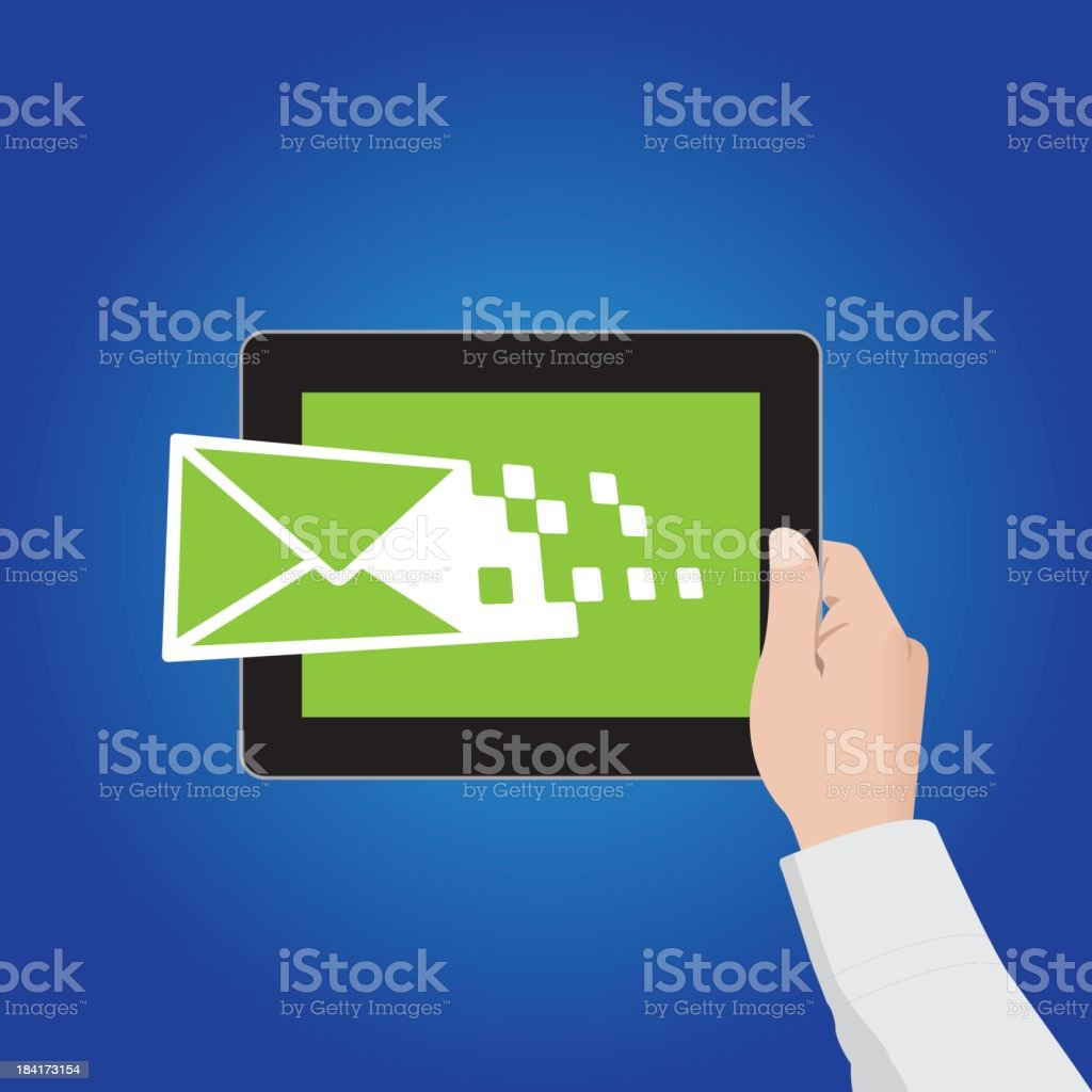E-mail Marketing royalty-free stock vector art