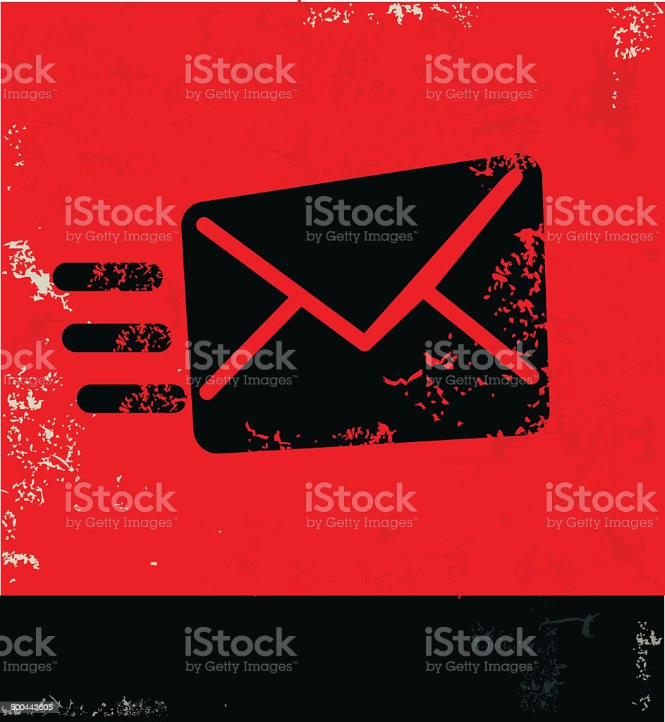 Email symbol,vector vector art illustration