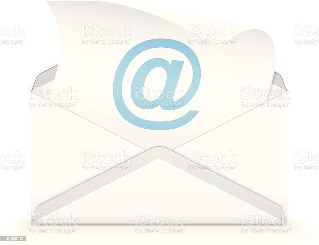 E-mail royalty-free stock vector art