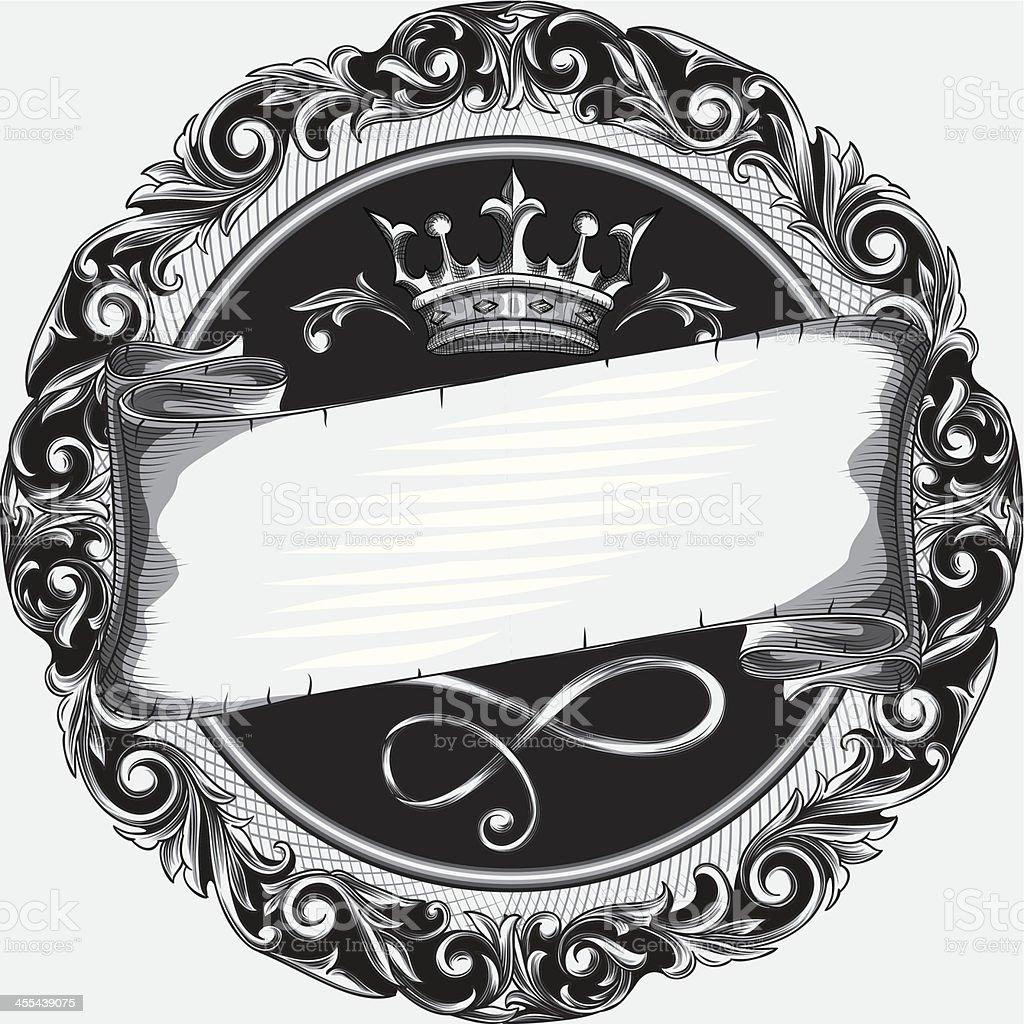 Emblem royalty-free stock vector art