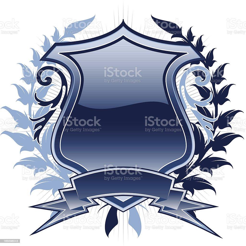 emblem wreath royalty-free stock vector art