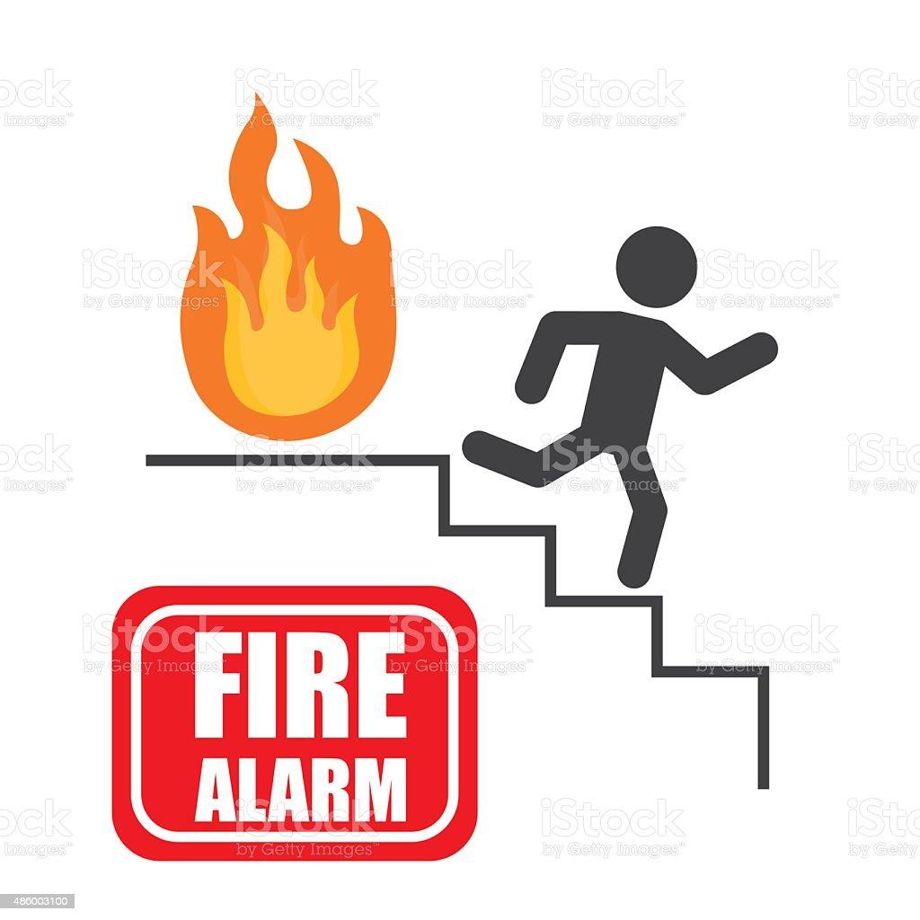 Emergency design. vector art illustration