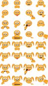 Emoticons with bad habits and behavior