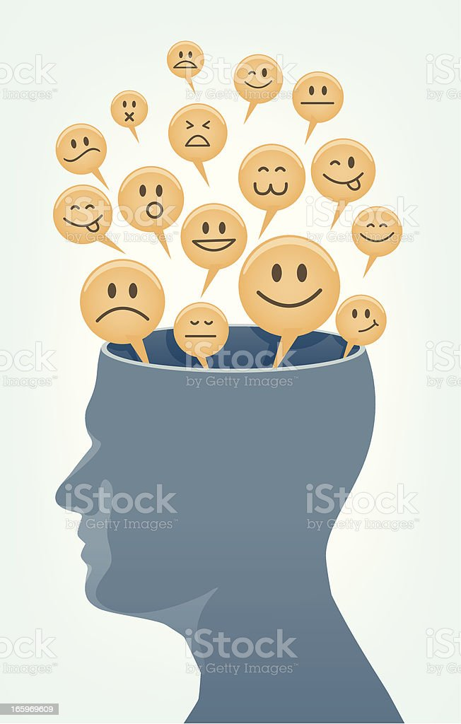Emotion of Human. royalty-free stock vector art