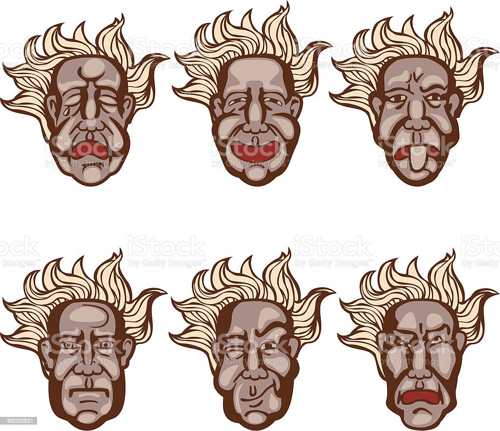 Emotions royalty-free stock vector art