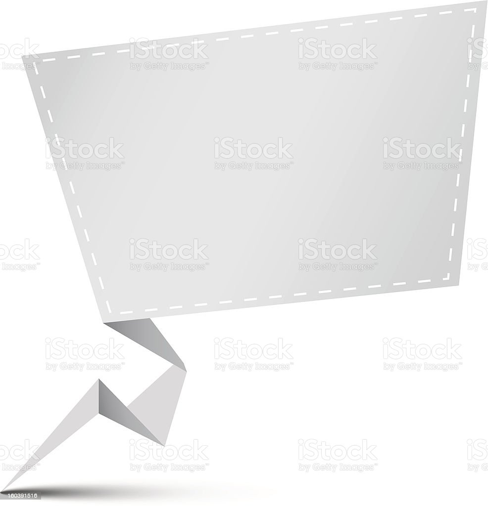 Empty advertisement copy space royalty-free stock vector art