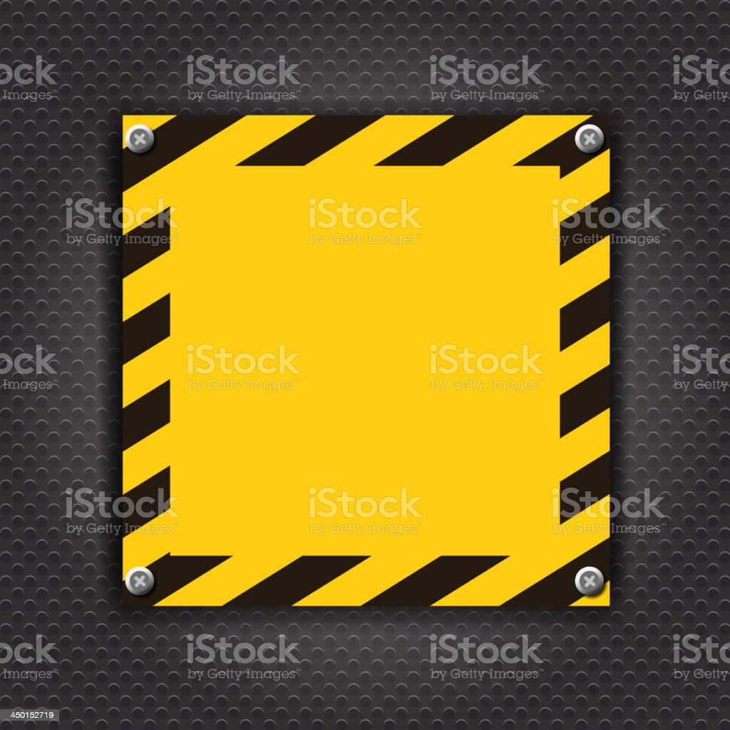 Empty cunstruction background vector illustration royalty-free stock vector art