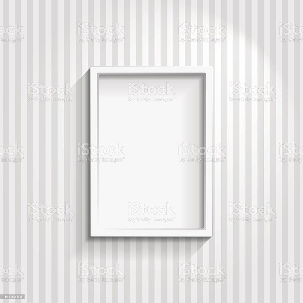 Empty Frame royalty-free stock vector art