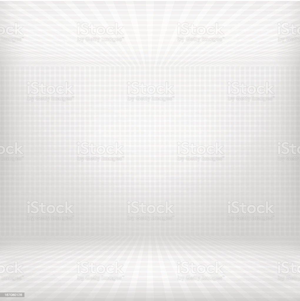 Empty room vector art illustration
