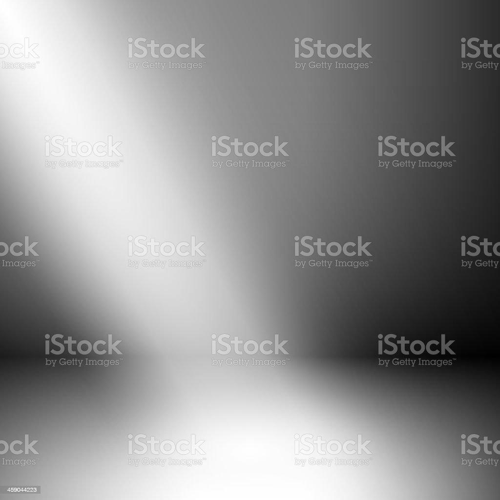 Empty room with illumination - eps10 vector art illustration