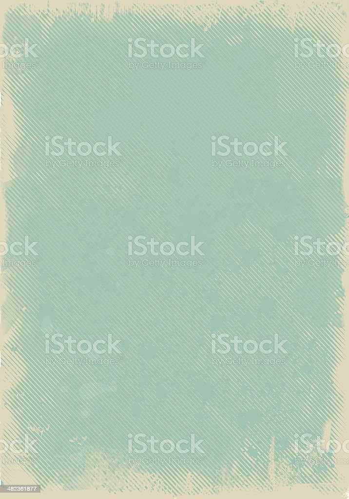 Empty Vintage Background vector art illustration