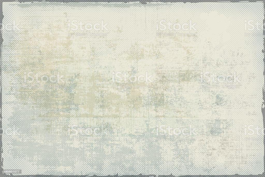 Empty Vintage Background vector art illustration