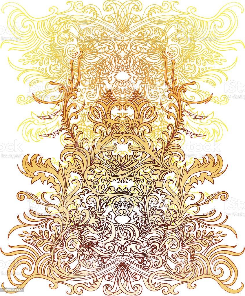 enchanted grace royalty-free stock vector art