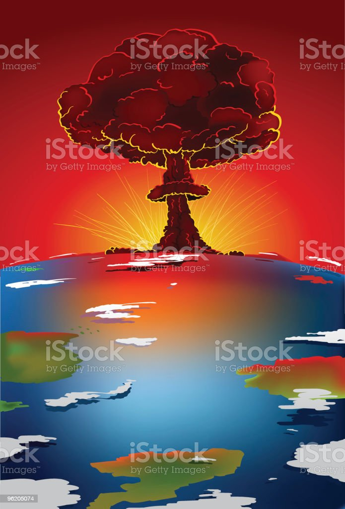 End of the World royalty-free stock vector art