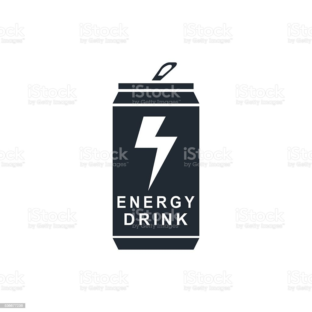 energy drink vector art illustration