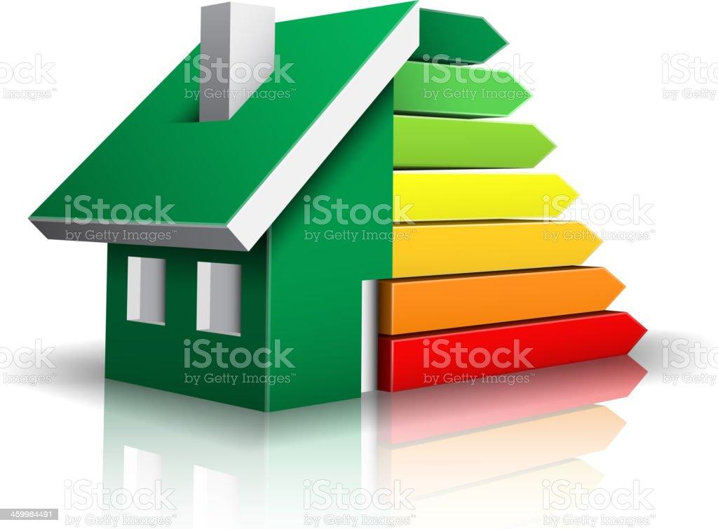 Energy Efficiency vector art illustration