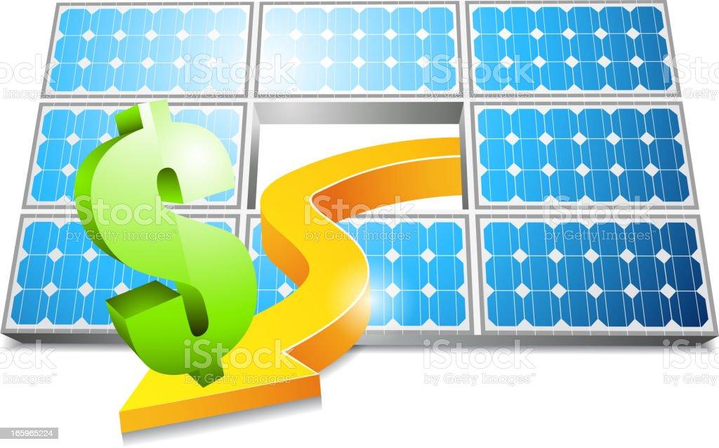 Energy saver royalty-free stock vector art