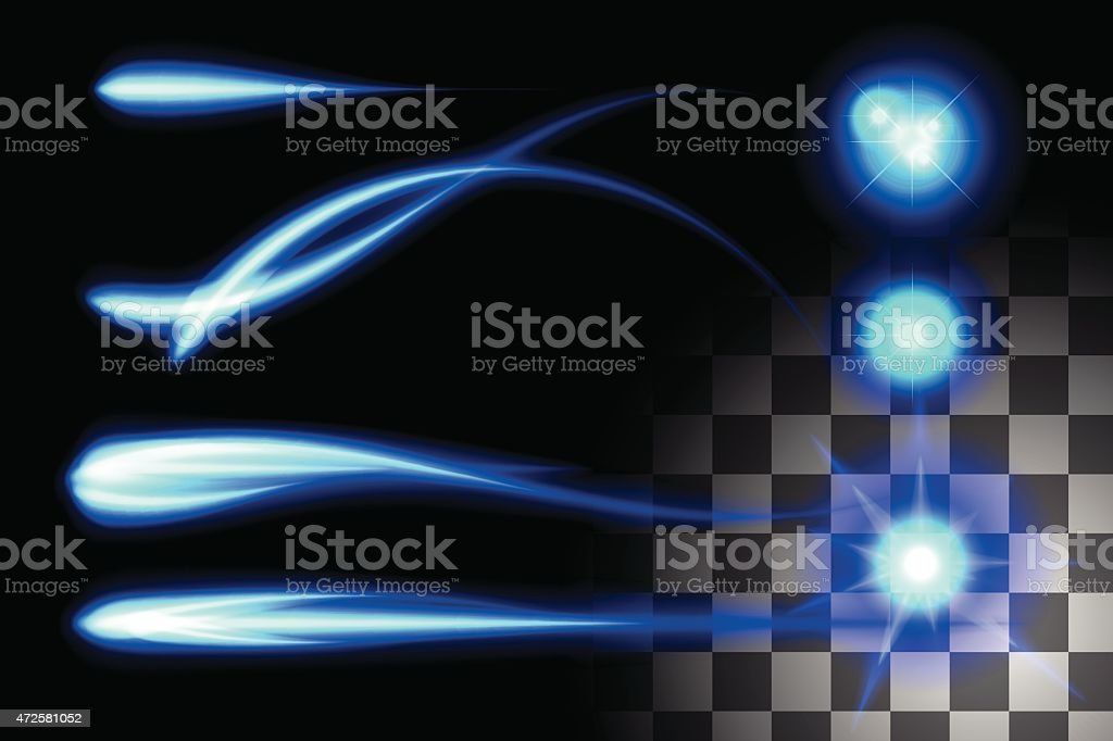 Energy special effect royalty-free stock vector art