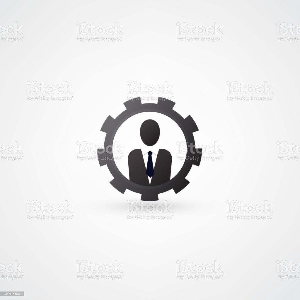 Engineering symbol royalty-free stock vector art