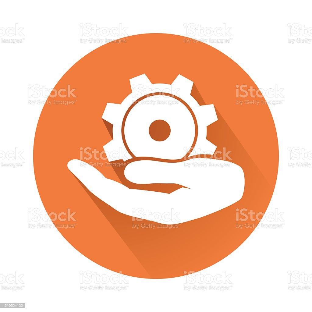 engineering symbol vector art illustration