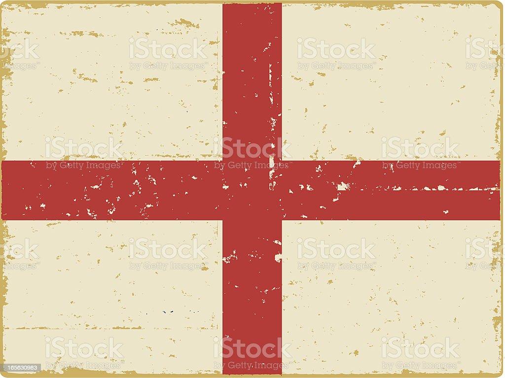 English Flag royalty-free stock vector art