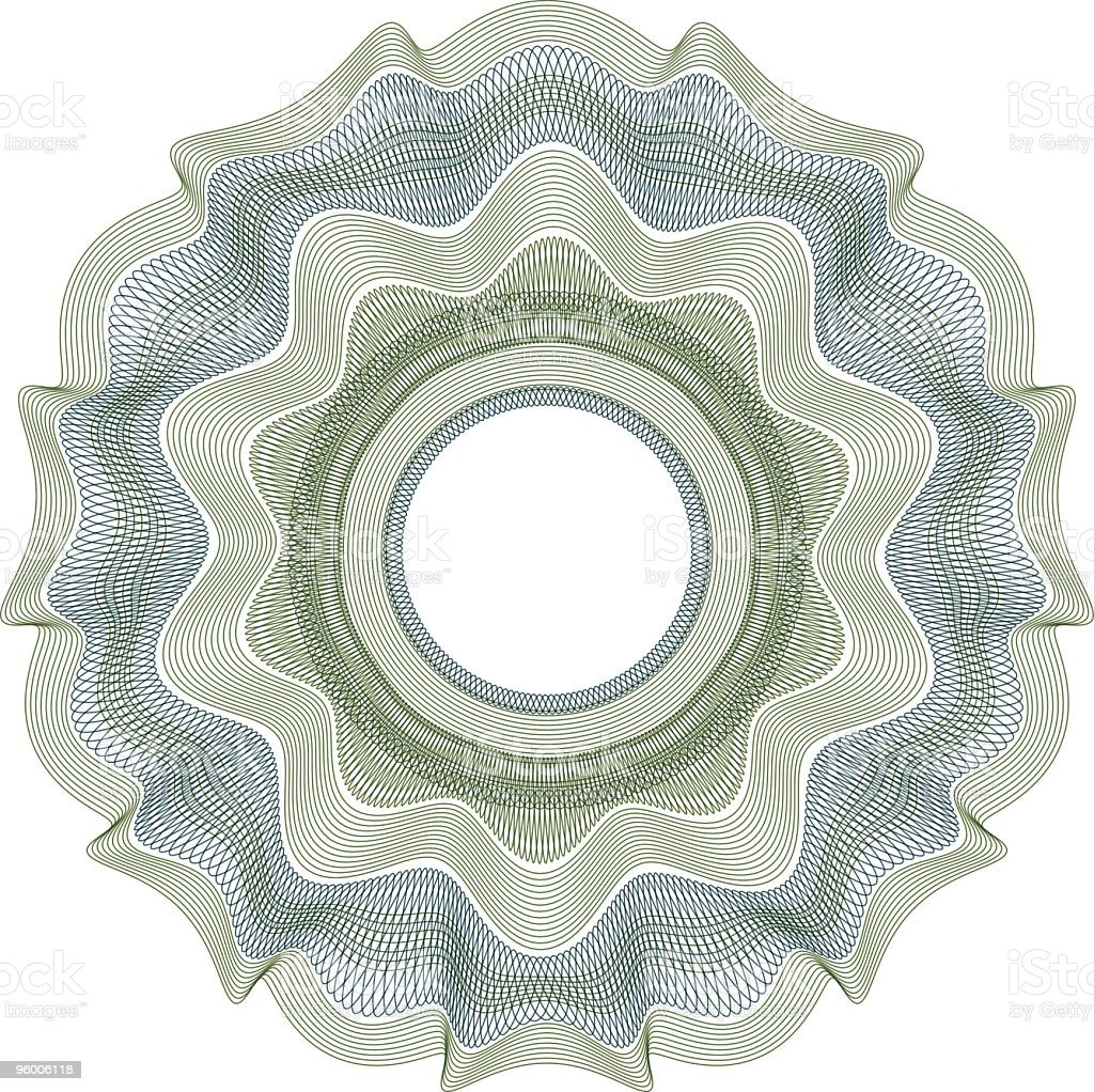 Engraved Pattern Astrol royalty-free stock vector art